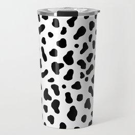Cow Pattern Travel Mug