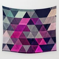 spires Wall Tapestries featuring hylyoxrype by Spires