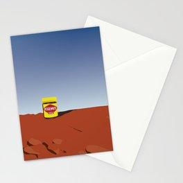 outback vegemite Stationery Cards