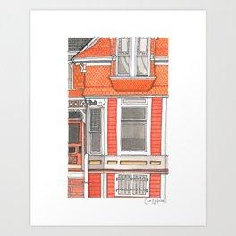 Home #5 Art Print