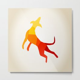 Abstract dog Metal Print
