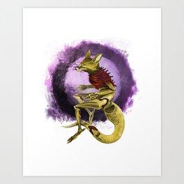 Abra Art Print
