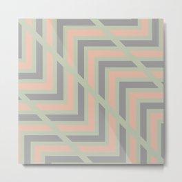 Nordic Pattern 20 Metal Print