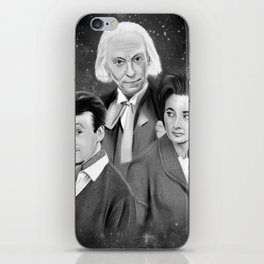Classic Who iPhone Skin