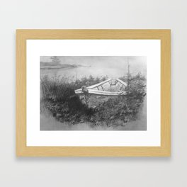 """Unsinkable"" Framed Art Print"