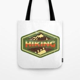 Hiking Is Freedom Tote Bag