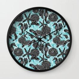 Sea Beauty, Ocean Beauty Wall Clock