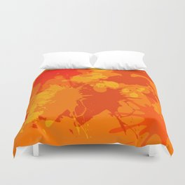 Accident in the Juice factory Duvet Cover