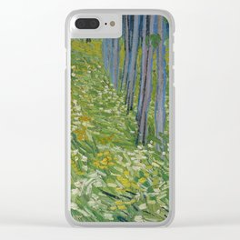 Undergrowth with Two Figures Clear iPhone Case