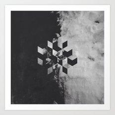 Pattern Drop I Art Print