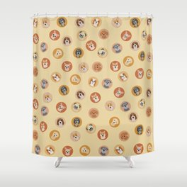 Cute Dogs 1 Shower Curtain