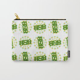 """HERB' (original invertible ambigram) Carry-All Pouch"