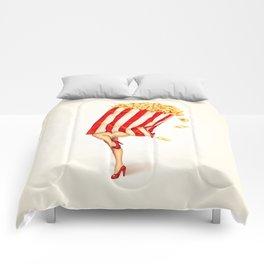 Popcorn Girl Comforters
