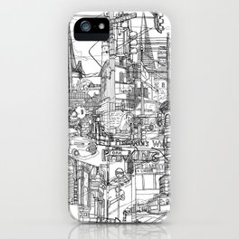 San Francisco! (B&W) iPhone Case
