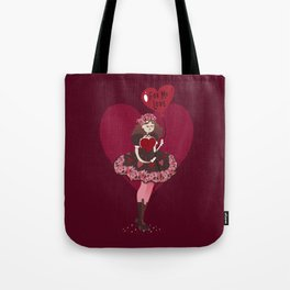 Valentine Chocolates Tote Bag