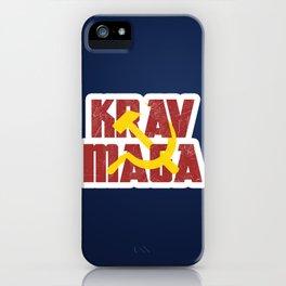 Krav Maga Russia Soviet Union iPhone Case