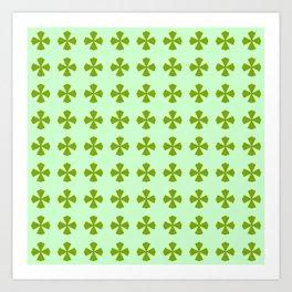 Leaf clover 2 Art Print