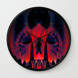 Daily Design 73 - Death Mask Wall Clock