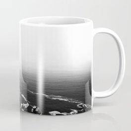 Disappearing Trails B&W Coffee Mug