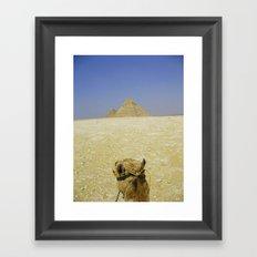 Pyramid View Framed Art Print