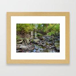 Broken Bridge Framed Art Print