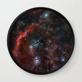 Orion Molecular Cloud Wall Clock