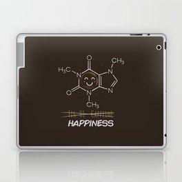 Caffeine Happiness Laptop & iPad Skin
