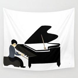 Piano Recital Wall Tapestry