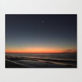 Sunrise North Topsail Island, NC #NorthTopsailIsland #TopsailIsland God Sky Art  Canvas Print