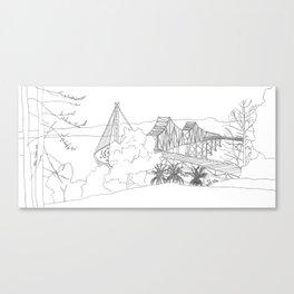 Bay Bridge East Span Canvas Print