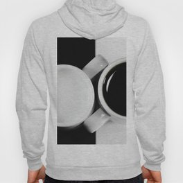 #Yin & #Yang, #coffee and #milk in #Cups #homedecors Hoody