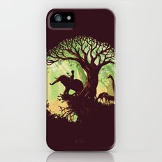 The jungle says hello Slim Case iPhone (5, 5s)