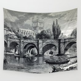 Cathedrals, abbeys and churches of England and Wales Wall Tapestry