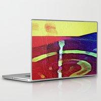 hook Laptop & iPad Skins featuring Hook Echo by David Lee