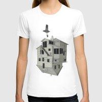 flight T-shirts featuring FLIGHT by NOA ALON ART
