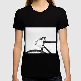 Steel frame track bike T-shirt
