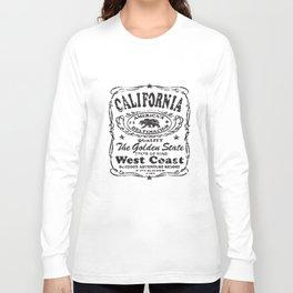 Sleeve Baseball Raglan Jersey Tee Cali California T-Shirts Long Sleeve T-shirt