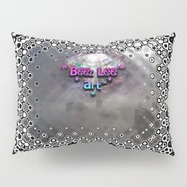 """Beez Lee Art : Foggy Square Point of View"" Pillow Sham"