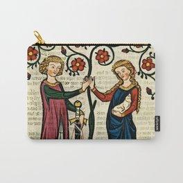 Codex Manesse: Bernger von Horheim Carry-All Pouch