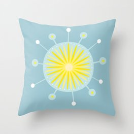 Radiolarian 8 Throw Pillow