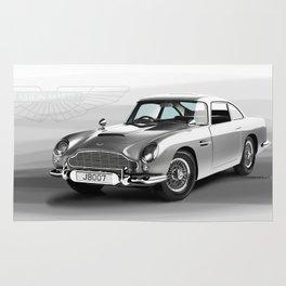 1963 Aston Martin DB5 Rug