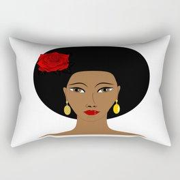 Afro Queen Rectangular Pillow