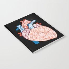 Anatomical Heart - For Cardiac Nurse Cardiologists Notebook