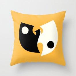 Wu Tang Yin Yang Throw Pillow