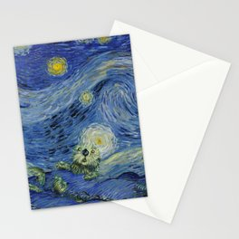 Starry Monterey Night (for Mikaela) Stationery Cards