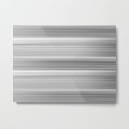 Abstract background blur motion black and white stripes Metal Print