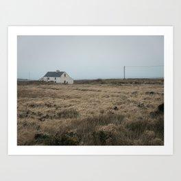 (RR 301) O'Sheas - Abandoned pub on Valentia Island in County Kerry, Ireland Art Print