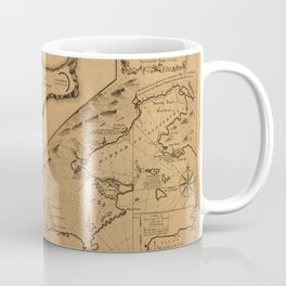 Map of Louisbourg 1757 Coffee Mug