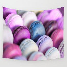 Lavender Purple Macaroons Wall Tapestry