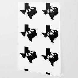 Texas American Quarter Horse Lover Black Wallpaper